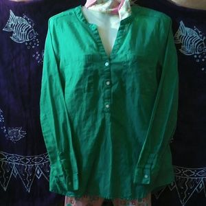 Old Navy tunic style cotton shirt